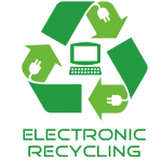 IT disposal electronic recycling logo