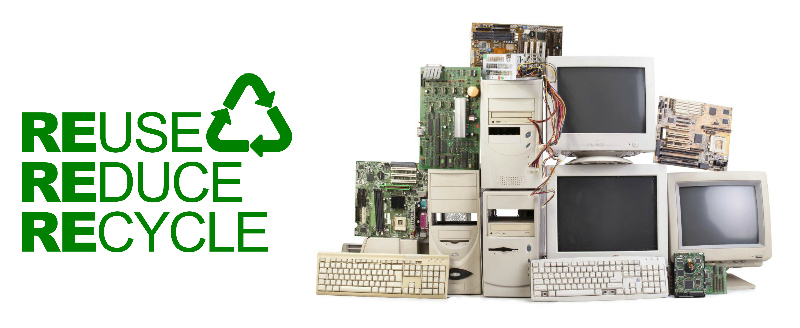 weee recycling services pile of old hardware
